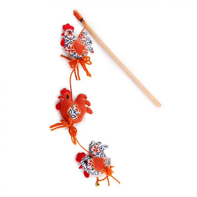 All For Paws Vintage Rooster Wand kissanonki