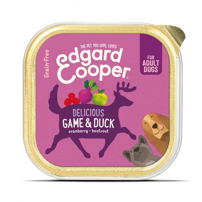 Edgard&Cooper Dog riista & ankka (150 g)