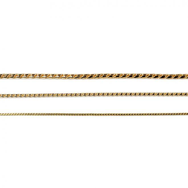 Show Dog Snake kaulain mess./kullat 3,5mm (35 cm)
