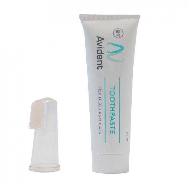 Avital Avident -hammastahna 50 ml ja sormihammasharja