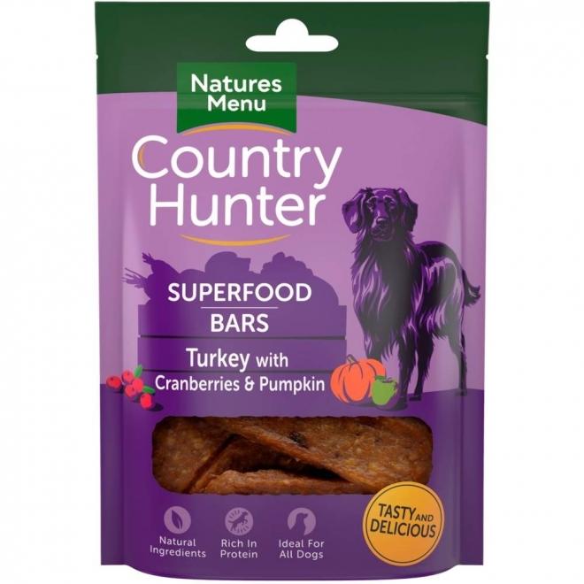 NaturesMenu Country Hunter Superfood Bar kalkkuna 100 g
