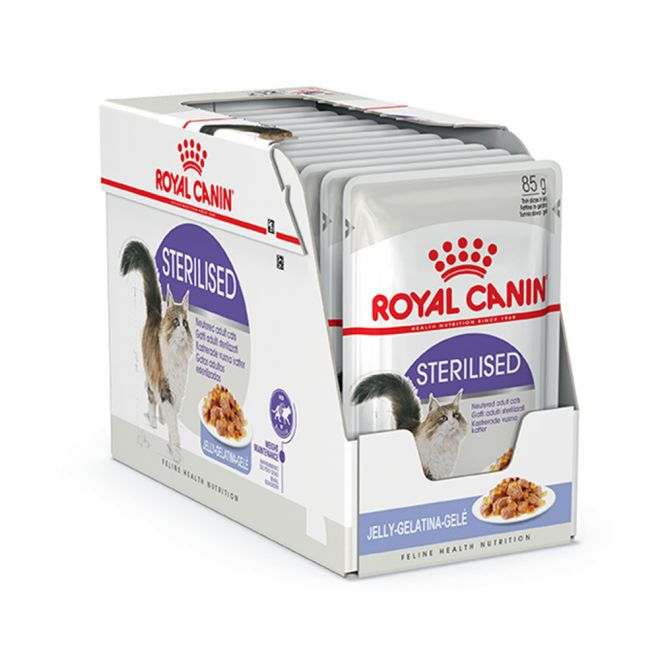 Royal Canin Sterilised in Jelly (12 x 85 g)