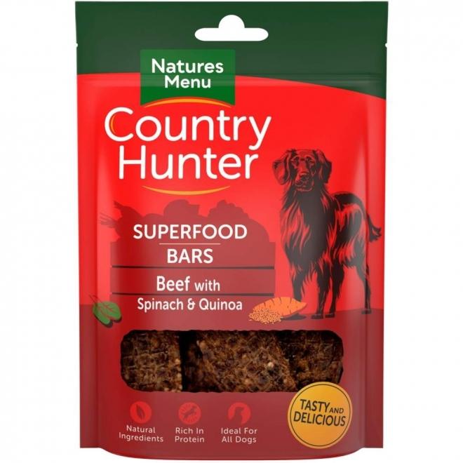 NaturesMenu Country Hunter Superfood Bar nauta 100 g