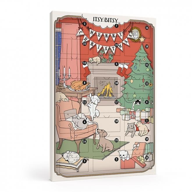 ItsyBitsy Joulukalenteri koirille ja kissoille