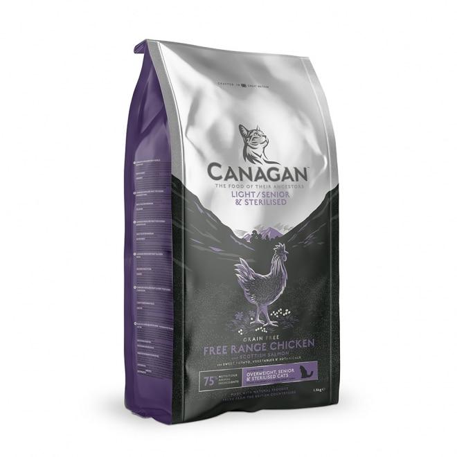 Canagan Cat Light/Senior/Sterilised