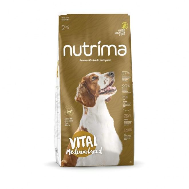Nutrima Vital Medium Breed koiranruoka (2 kg)