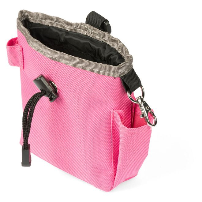 Pro Dog Treat makupalapussi taskulla (Pinkki)