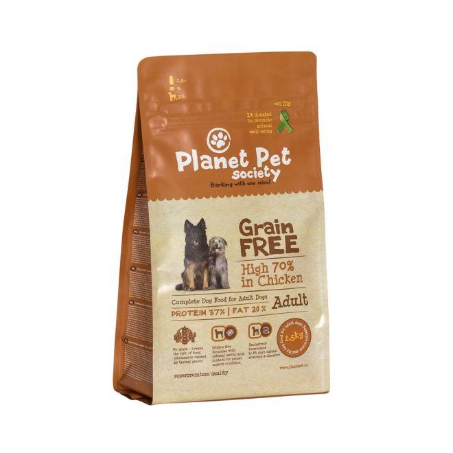 Planet Pet Society Grain Free Chicken