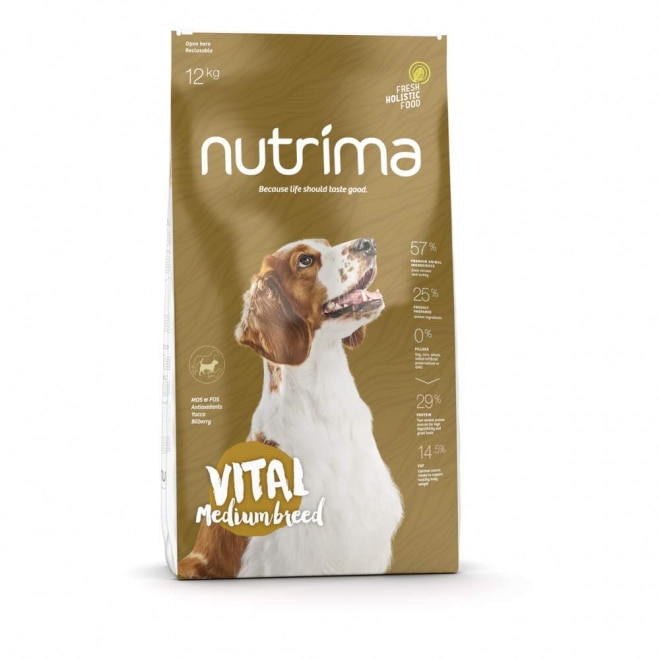 Nutrima Vital Medium Breed koiranruoka (12 kg)