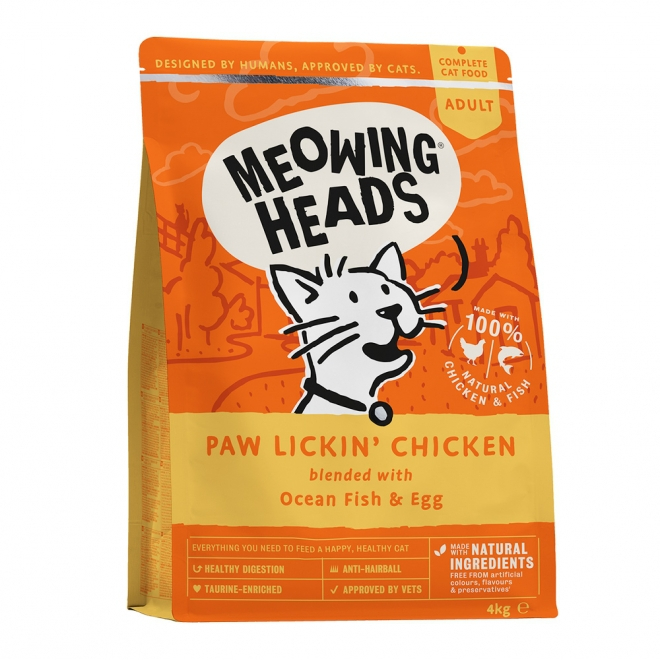 Meowing Heads Paw Lickin Chicken (4 kg)