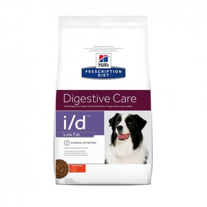 Hills Diet Dog i/d Low Fat 1,5kg