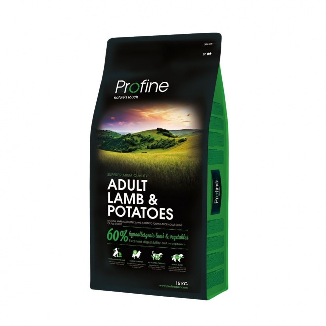 Profine Adult Lamb Potatoes Koiranruoka Koiran Kuivaruoka