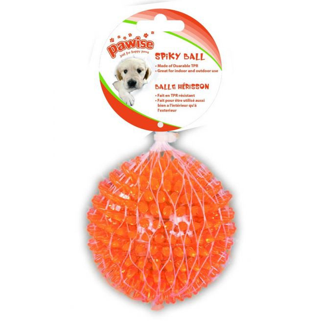 Pawise TPR Bouncy pallo 12,5cm oranssi