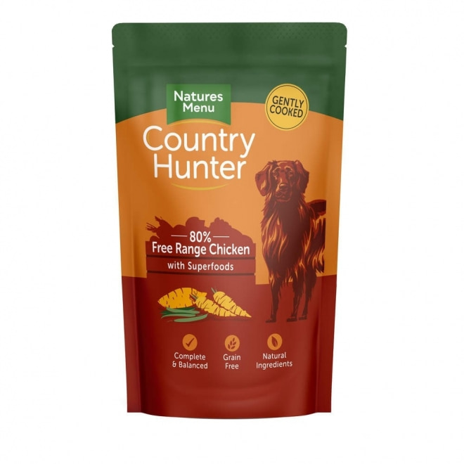 Natures:menu Country Hunter Dog Free Range Chicken 150 g