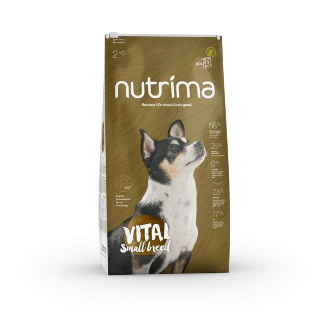 Nutrima Vital Small Breed koiranruoka (2 kg)