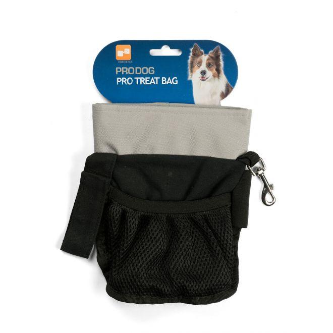 Pro Dog Treat makupalapussi saranalla (Musta)