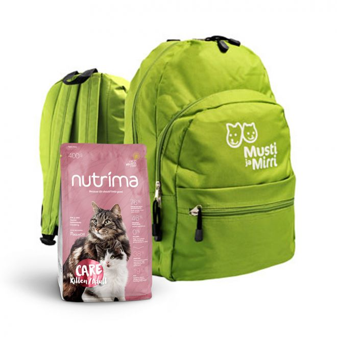 Nutrima Cat Care Kitten/Adult M&M Kasvattaja Pentupaketti kissalle