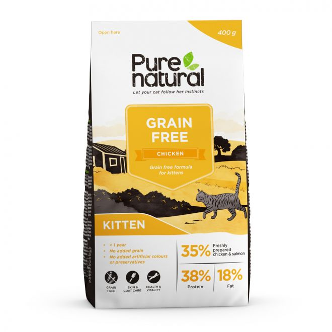Purenatural Cat Grain Free Kitten Chicken