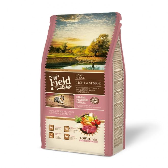 Sam´s Field Light & Senior lammas (2,5 kg)