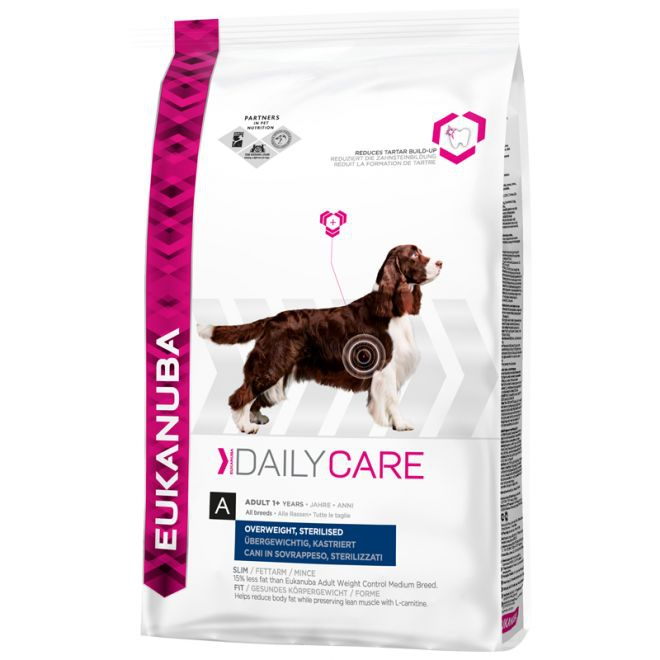 Eukanuba Daily Care Overweight, Sterilized All Breeds