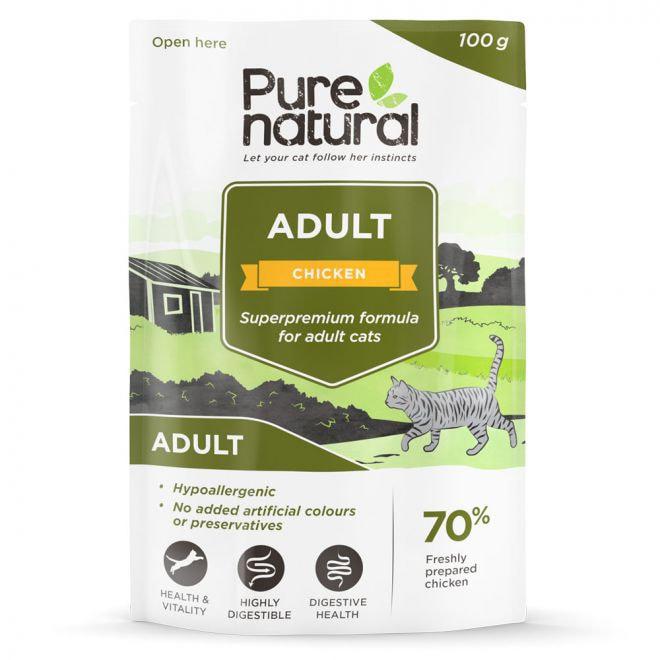 Purenatural Cat Adult Chicken 100 g