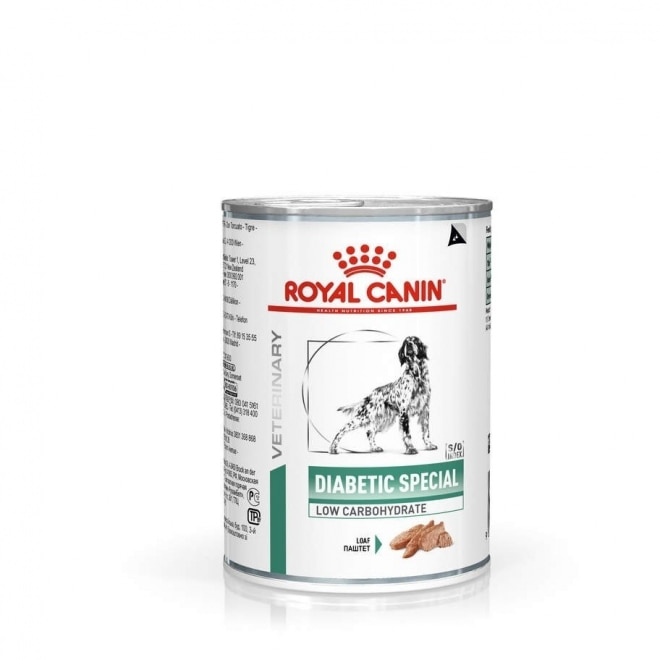 Royal Canin Veterinary Dog Weight Management Diabetic Special Low Carbohydrate Wet 12x410g