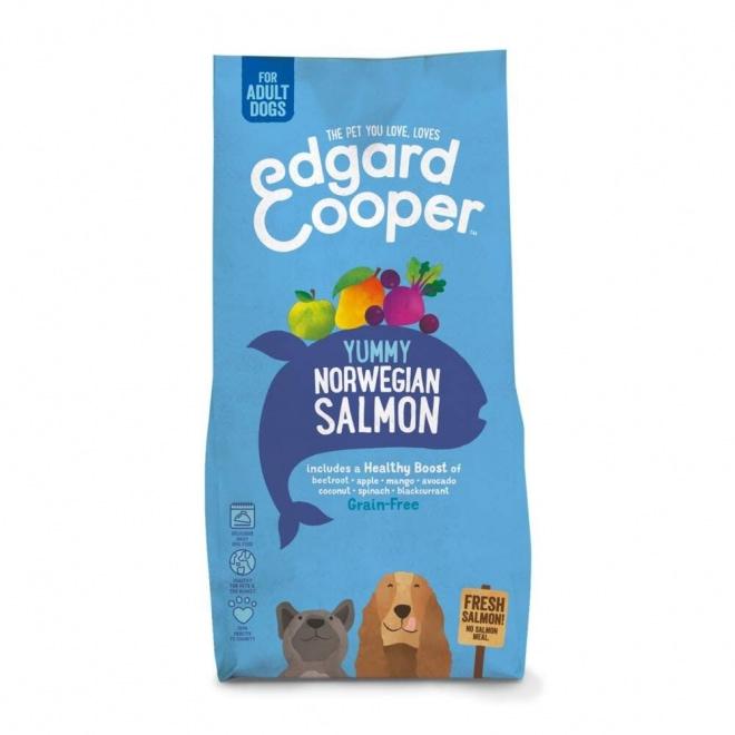 Edgard&Cooper Yummy Norwegian Salmon Grain Free (12 kg)