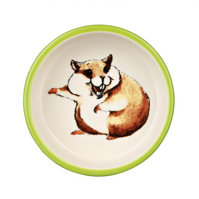 Trixie Keraaminen kuppi hamstereille 80ml (Keraaminen)