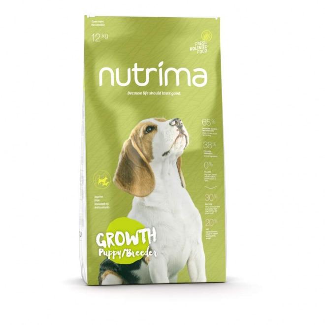 Nutrima Growth Puppy/Breeder koiranruoka (12 kg)