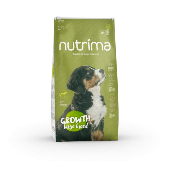 Nutrima Growth Puppy Large Breed koiranruoka (2 kg)