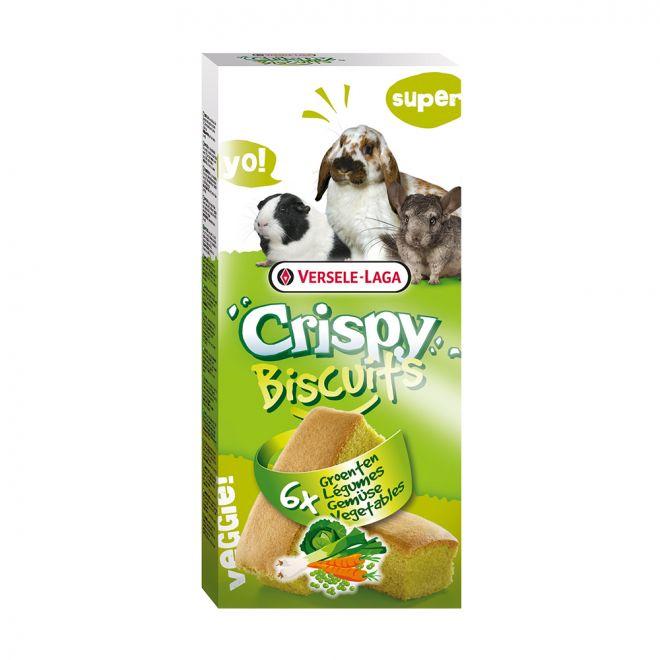 Versele-Laga Crispy Biscuits Vegetables 6 pcs 70g (70 grammaa)