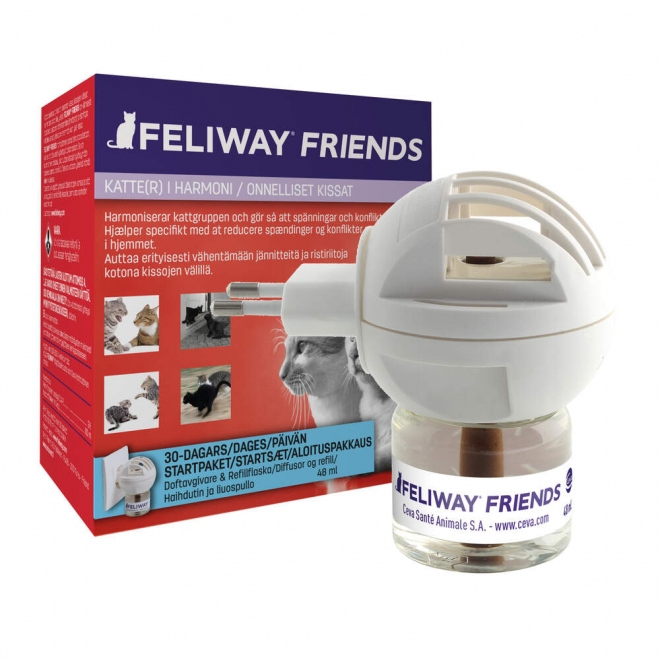 Feliway Friends -haihdutin ja -liuos