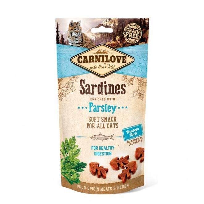 Carnilove Cat Snack sardiini 50 g