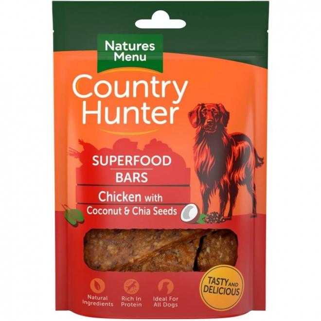 NaturesMenu Country Hunter Superfood Bar kana 100 g