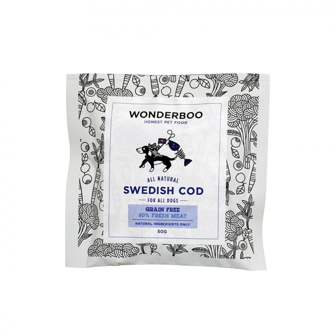 Wonderboo Adult Swedish Cod Grain Free