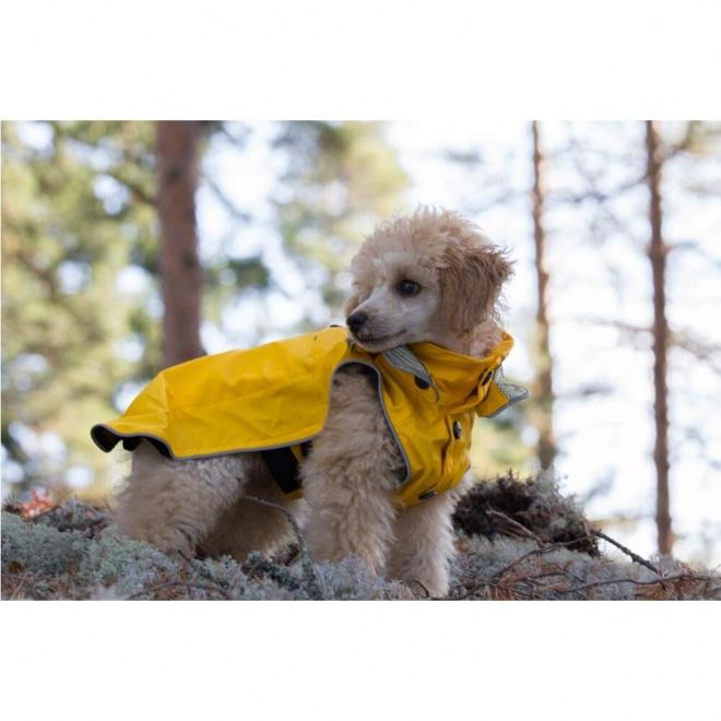 Rukka Stream koiran sadetakki keltainen