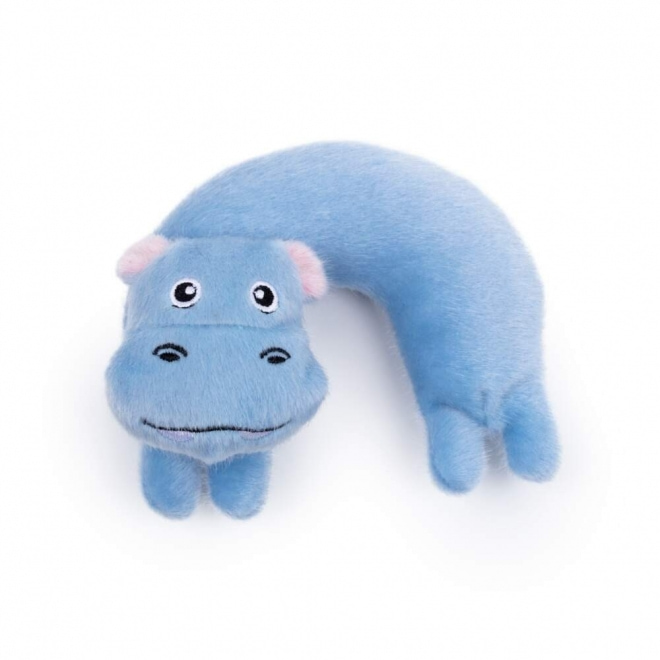 Little&Bigger Pastelle Pets Curved hippo
