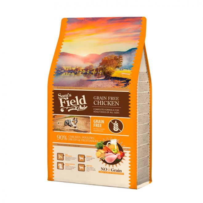 Sam´s Field Adult Grainfree kana (2,5 kg)