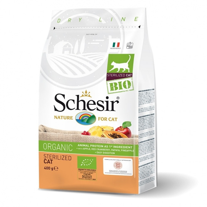 Schesir Bio Cat Adult Sterilized 400 g