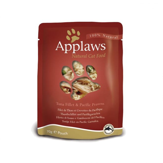 Applaws Cat tonnikalafilee ja katkarapu