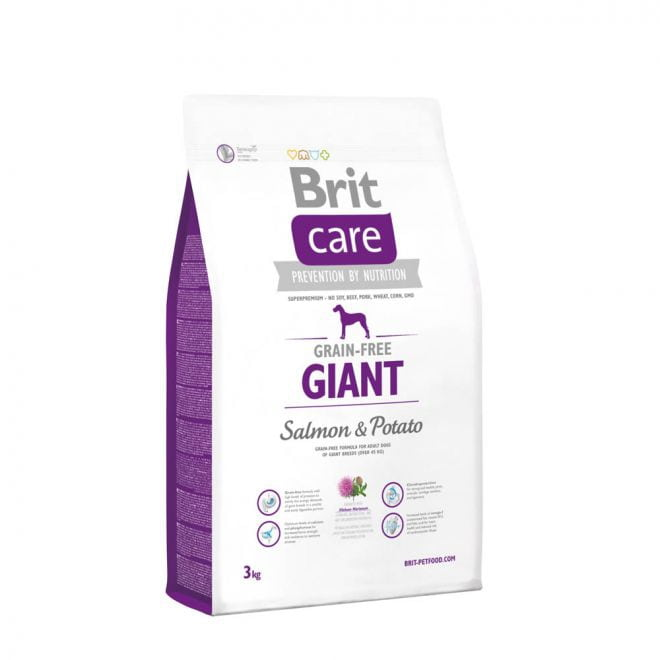 Brit Care Grain-Free Adult Giant Salmon & Potato