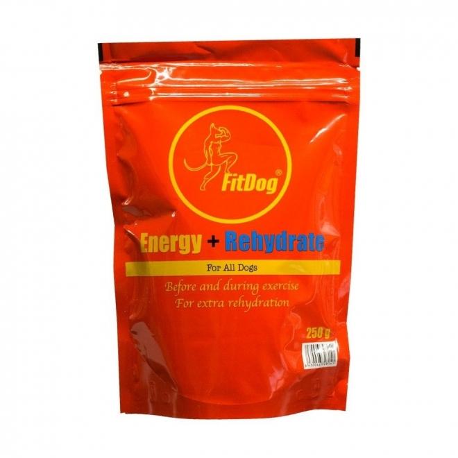 FitDog energia- ja nesteytysjuomajauhe (600 g)