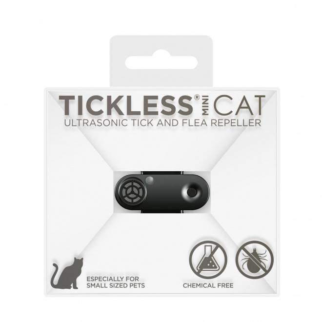 Tickless MINI CAT punkkikarkotin kissalle (Musta)
