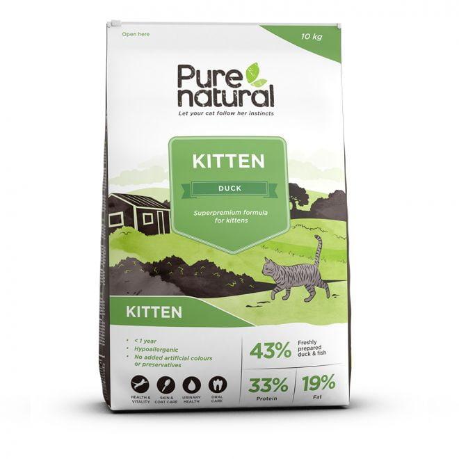 Purenatural Cat Kitten Duck (10 kg)