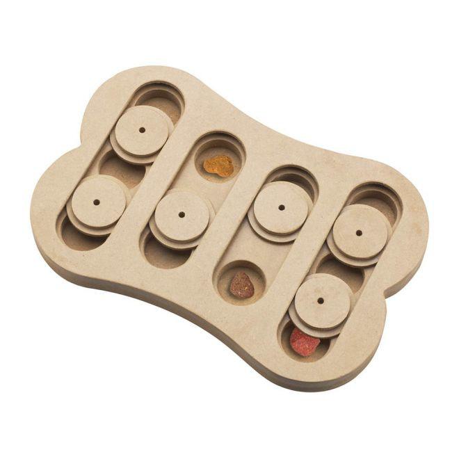 Little&Bigger Seek-a-Treat Shuffle Bone aktivointipeli