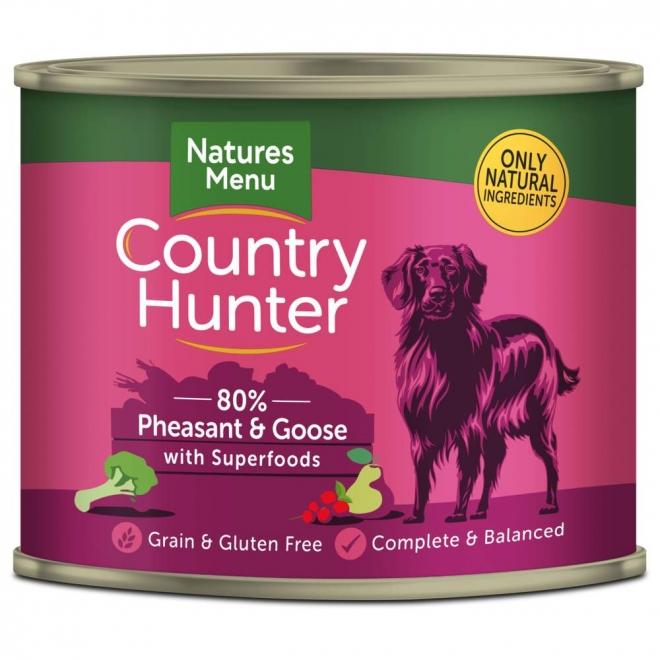 Natures:menu Country Hunter Dog fasaani & hanhi 600 g