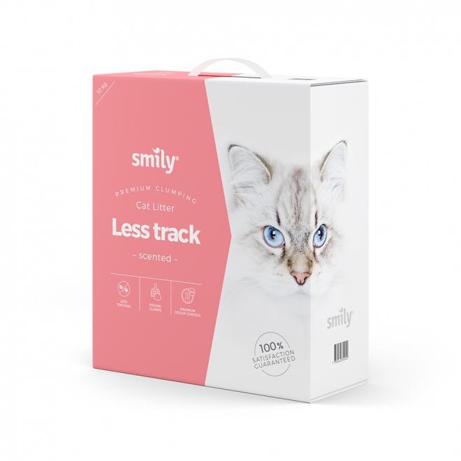 Smily Cat Litter Less Track