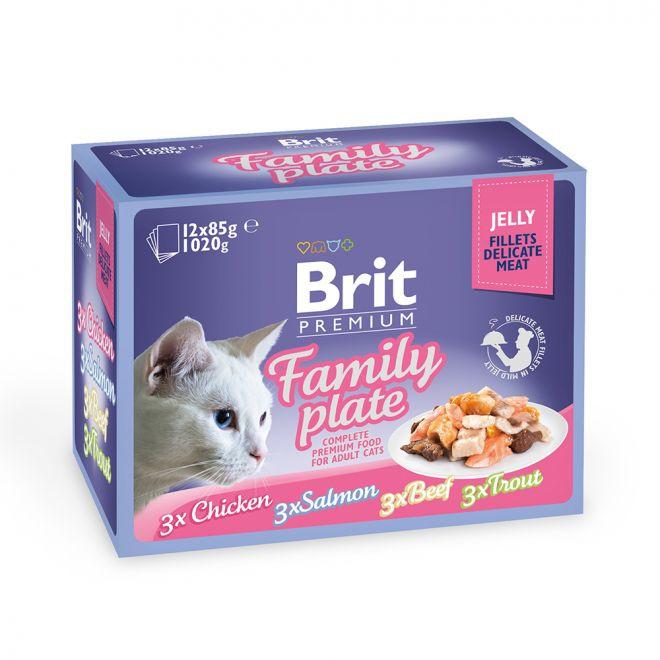 Brit Premium paloja hyytelössä multipack 12 x 85 g