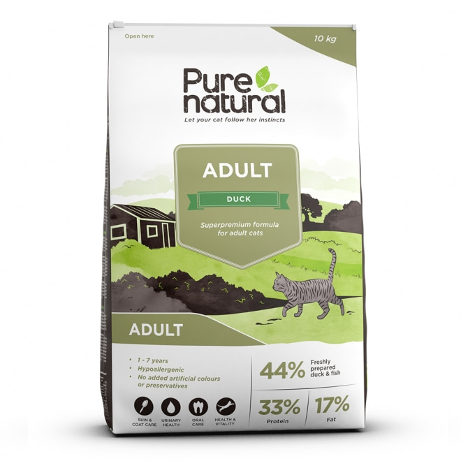 Purenatural Cat Adult Duck (10 kg)