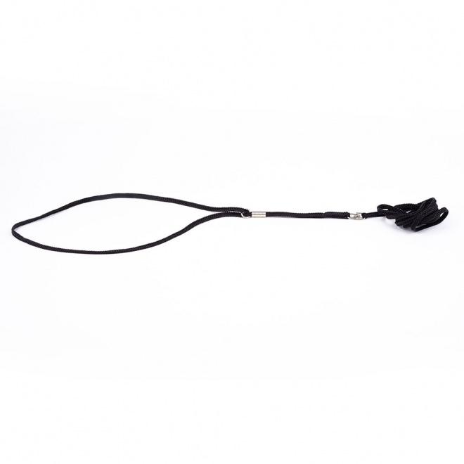 Show Dog Näyttelytalutin pyöreä, musta (3 mm)